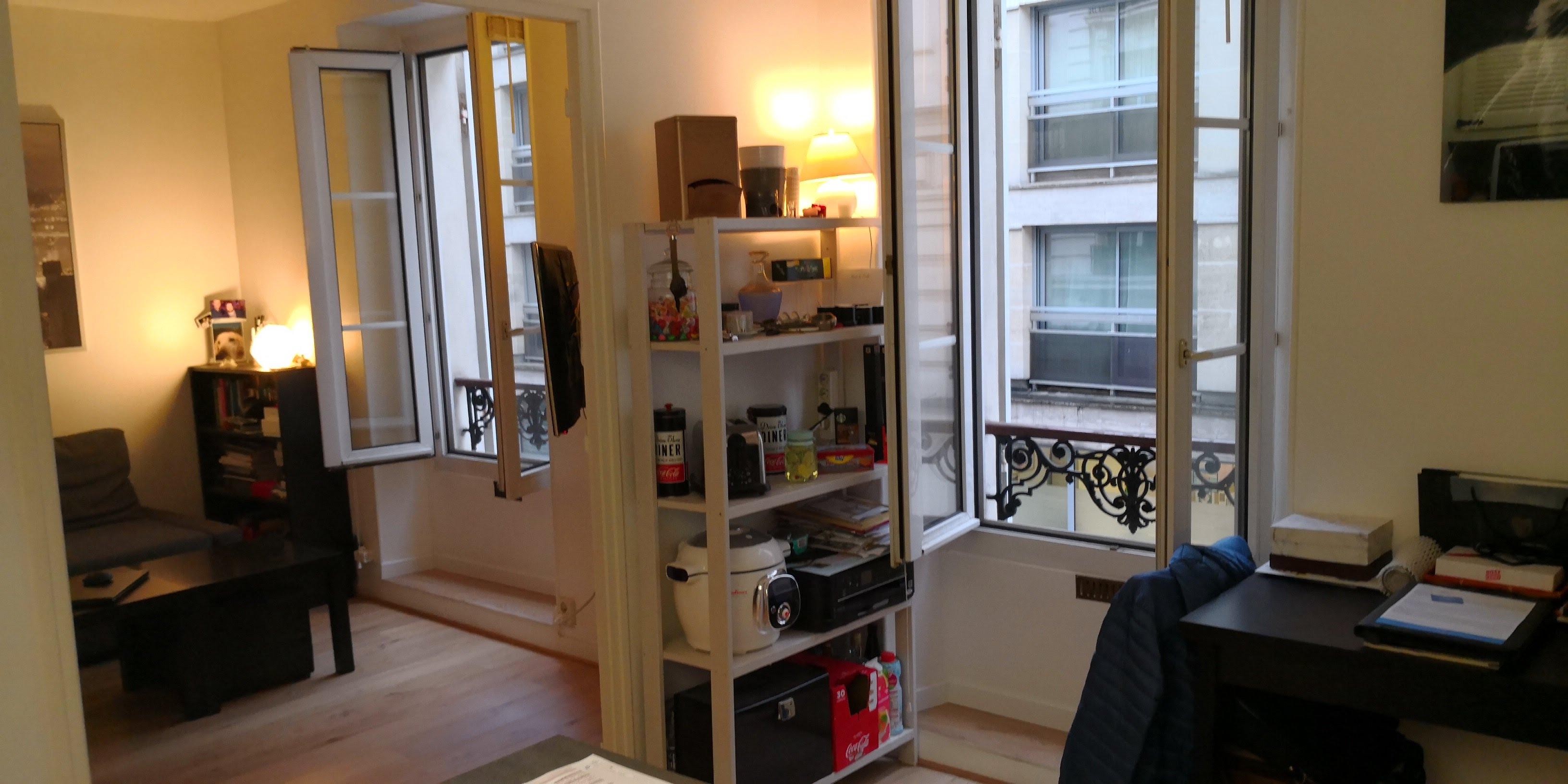 Paris 15ème, Appartement  2/3 pièces de 38 m2 Quartier Tour Eiffel ,  Métro La motte piquet ou Dupleix