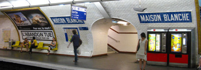 Paris 13ème,3 pièces 54m2,Quartier des Peupliers,métro maison Blanche