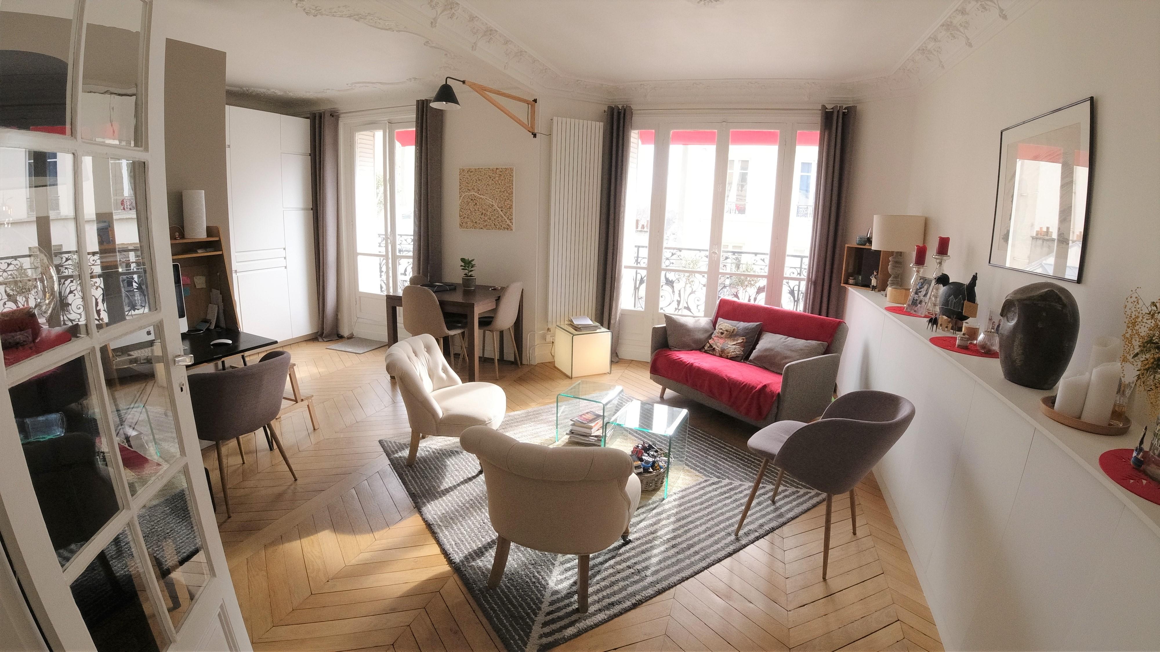 Paris 15 ème, 3 Pièces 54m2 proche Avenue Breteuil, Métro Sèvres lecourbe et Segur